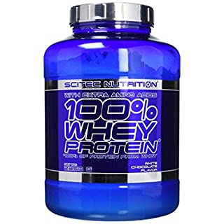 Scitec Nutrition White Chocolate 100% Whey Protein 2350g