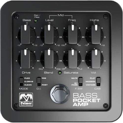 Palmer Pocket Amp Bass - Preamp für Bass-Gitarren (Amp-bass-gitarre)