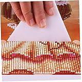 Romote Herramienta de reparación 1Pc para Diamond modificador Pintura Corrección Ajustador Diamante Bordado Herramienta de la corrección Neta Regla de moldes de Punto de Cruz