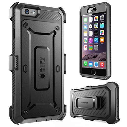 PCASE Apple iPhone 6 Hülle, iPhone 6, schwarz/schwarz ()