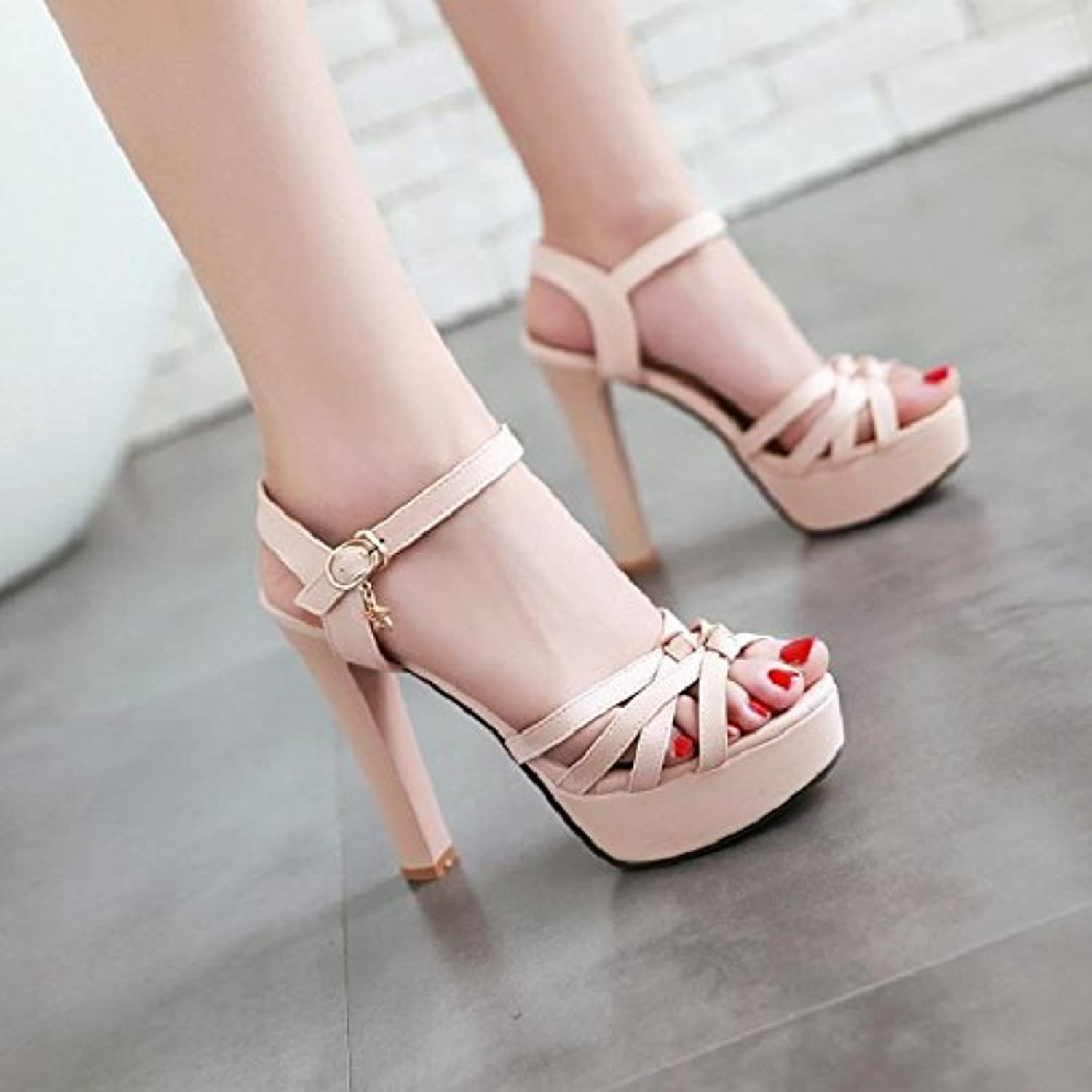 822e94cee0b1 YMFIE European Summer Fashion Sexy Toe High Heels SandalsLadies Party  Banquet Wedding High Heels B07DX4H6QN Parent f1ba42