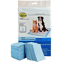 BPS® Empapadores de Entrenamiento para Perros Gatos Perfumes con Feromonas para Atraer los Cachorros y Simplificar el Entrenamiento (40pcs 60*60 cm) BPS-2167*2