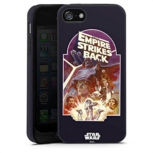 Apple iPhone X Silikon Hülle Case Schutzhülle Star Wars Merchandise Fanartikel The Empire Strikes Back Tough Case matt