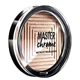 Maybelline New York Terra Viso Illuminante Master Chrome, Formula in Polvere, 200 Molten Bronze, 8 gr