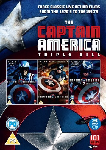 Captain America Triple Box Set [DVD] by Matt Salinger
