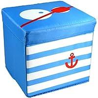 My Note Deco 065868–Sitzsack Packs Big Eye Pirat–Blau preisvergleich bei kinderzimmerdekopreise.eu
