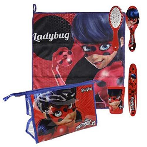 Lady Bug Miraculous - Set Neceser higiene Comedor