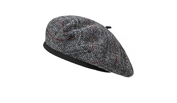 Tweed Berretto Basco Laulhere beret basco in lana L 58-59 - grigio  Amazon. it  Abbigliamento 9ec2c8b025a0