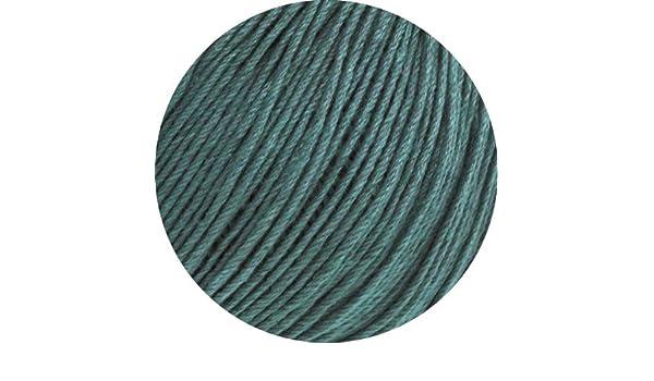 29 verde 50 G lana Grossa-solo lino-FB Lana creativo