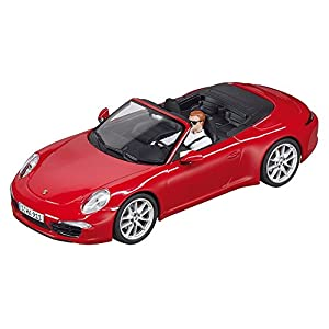 Carrera Evolution - Porsche 911 S Cabriolet, Color Rojo (20027534)