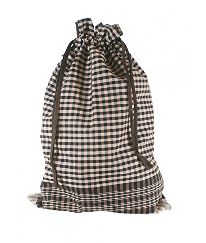 CAL FUSTER - Bolsa para el pan en tela de fardo, 100% algodón. Medidas: 53x35 cm.