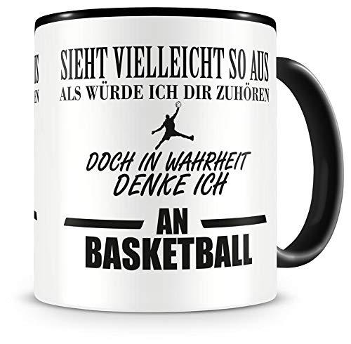 an Basketball Tasse Kaffeetasse Teetasse Kaffeepott Kaffeebecher Becher ()