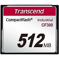 TRANSCEND 512MB CF Card 300x UDMA5 Type I SLC Industrie
