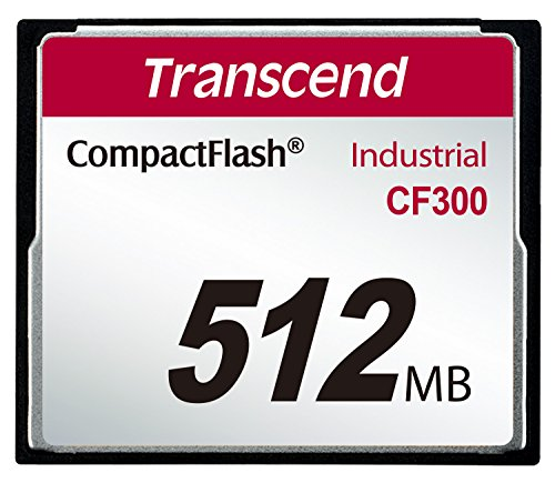 Transcend ts512mcf300 compact flash industrial slc