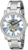 Stuhrling Original Legacy Women's Automatic Watch with White Dial Analogue Display and Silver Stainless Steel Bracelet 629.01