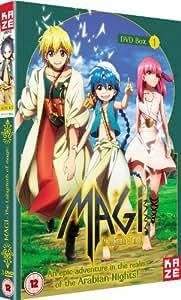 Magi The Labyrinth of Magic - Season 1 Part 1 [DVD]