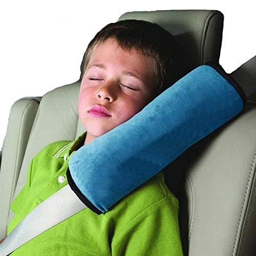 Kentop Auto Sicherheit Gürtel Kissen Schlafkissen Schulterpolster Seat Gürtel Kissen Gurtpolster für Kinder Baby