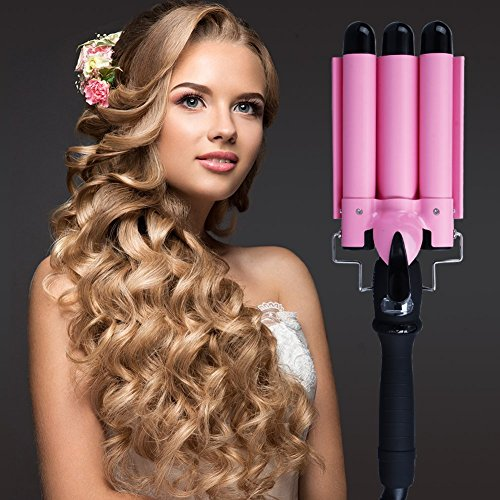 vishine-professional-three-barrel-curling-iron-wand-with-lcd-temperature-displaydeep-waving-irons-1-