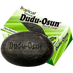 Tropical Naturals Dudu-Osun, Savon noir Africain 100% naturel, 150g, Lot de 6