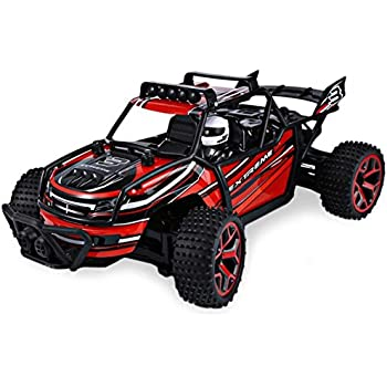 SZJJX RC Cars Off-Road Rock Vehicle Climber Truck 2.4Ghz 4WD High Speed 1:18 Remote Radio Control Racing Cars Electric Fast Race Buggy Hobby Car Red