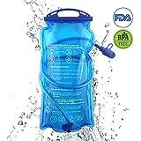 Joyhill Trinkblase 3L Wasserbeutel Wasserblase für Rucksack Wanderrucksack Trinkrucksack Radfahren Wasserblase Trinksystem Zum Camping Wandern Radfahren Freiheit Outdoor Faltbare Trinkflasche