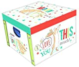 Robert Frederick Guess How Much I Love You Collapsible Storage Box, Assorted