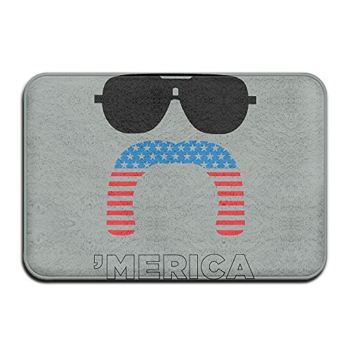 PZLETVslzb Home Door Mat Merica American Flag Doormat Pile Entrance Rugs Anti Slip 4060 Indoor Outdoor - Indoor-flag-kit
