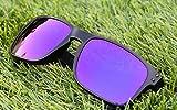 MZM Lentes Polarizadas de Recambio para Oakley Holbrook (Purple Mirror)