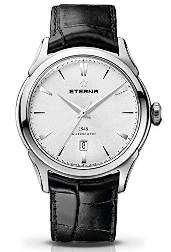 Eterna Herren-Armbanduhr 1948 Datum Analog Automatik 2950.41.11.1175