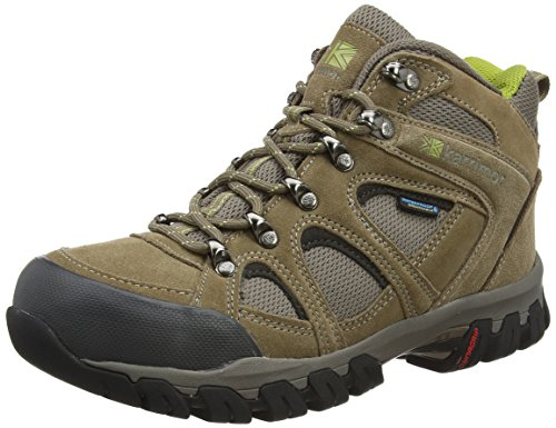 Karrimor Bodmin IV Weathertite, Women's Trekking and Hiking Shoes, Taupe/Green, 5 UK