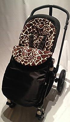 Animal Print saco/Cosy Toes Compatible con Graco Stadium/Quattro/EVO/mosaico jirafa
