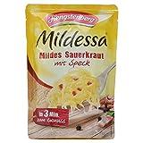Hengstenberg Mildessa Mildes Sauerkraut mit Speck, 400 g