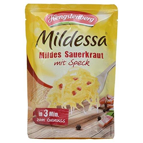 Hengstenberg Mildessa Mildes Sauerkraut mit Speck, 400 g Test