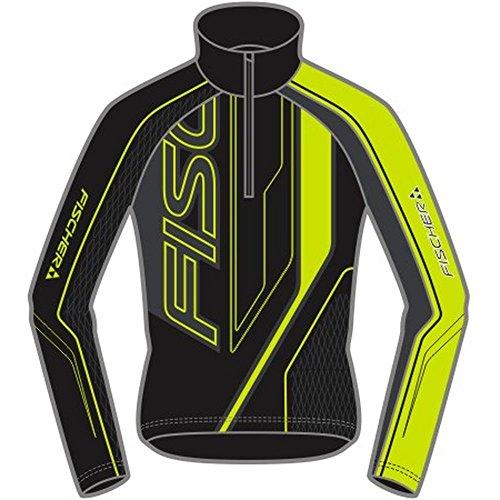 Fischer Herren XC -Racing Shirt Drammen (Schwarz/XL) (Hose Xc-ski)
