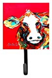 Caroline's Treasures MW1014SH4 Cow Caught Red Handed Leash or Key Holder, Small, Multicolor