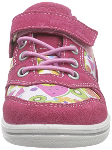 Ricosta Birgit, Baskets Basses fille Rose - Pink (bubble/multi 331)