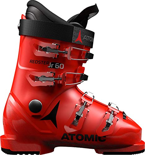 Atomic Unisex-Kinder ABO ATO Race Inl Schneestiefel, Rot (Red/Black 000), 33/34 EU