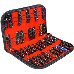 Présentoir à couteaux, étui à couteaux de poche, petit bloc de couteaux pliable, sac de rangement pour outils.