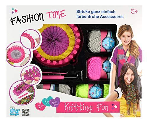 Beluga Spielwaren 80322 Fashion Time Knitting Fun, bunt