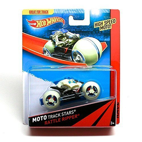 RATTLE RIPPER Hot Wheels 2013 Moto Track Stars High Speed Motorcycle (BDN50) by Hot Wheels