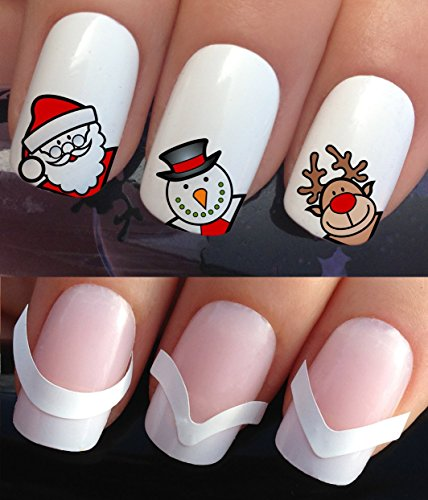 christmas-nail-art-set-stickers-decals-water-transfers-plus-x48-french-manicure-tip-guides-795-172-x