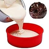 Kreisform Formen Silikonform Kuchen Mousse für Eiscreme Pralinen Gebäck Art Pan Dessert Backformen Kuchen Werkzeuge