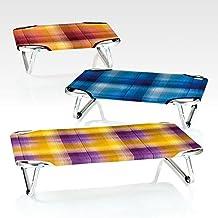 FOP cuna de aluminio 45x70 - Perros camas elevadas toallas