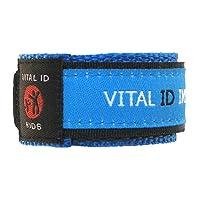 Vital ID Kids Medical Emergency & Allergy ID Wristband