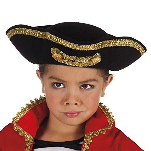 Boland 81906 Enfants Chapeau Pirate Joey, One Size
