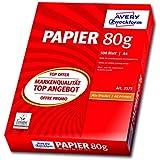 Avery Zweckform 2575 Drucker- und Kopierpapier A4 (80 g/m², 500 Blatt) weiß (Optimierte Schutzverpackung)