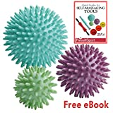 51f0w2RMdtL. SL160  - BEST BUY #1 ResultSport® Pack of 3 - Spiky Massage Balls Stress Reflexology - 6cm, 8cm, 10cm - Trigger Point Massage - Myofasical Ball, Exercise Ball, Lacrosse Ball, Environmental Friendly plastic, PAH and Phthalates Free Reviews and price compare uk