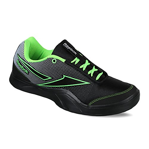 Reebok Men's Athletic Run 2.0 Black, White and Neon Green Running Shoes - 7 UK/India (40.5 EU)(8 US)  available at amazon for Rs.1539
