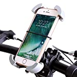 Color:bike cradle You are worth to have it. Universal bike/bicycle phone holder ensures that your cell phone stays close at hand, whether biking to the market, across town, or in the mountains. Features: ?High quality: Our products use ABS plastic ma...