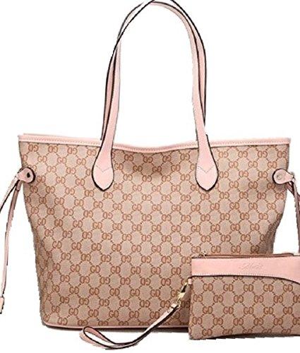 getthatbag-pour-femme-boston-monogramme-imprim-sac-bandoulire-shopper-sac-main-gris-marron-gris-rose